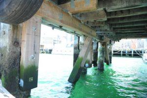 Queens Wharf Timber Repair